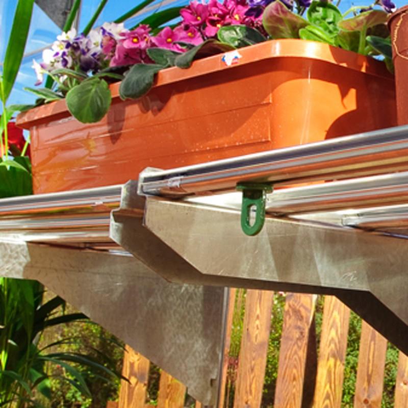 Etagère Renforcée Pour Serre De Jardin - Palram destiné Etagere De Jardin