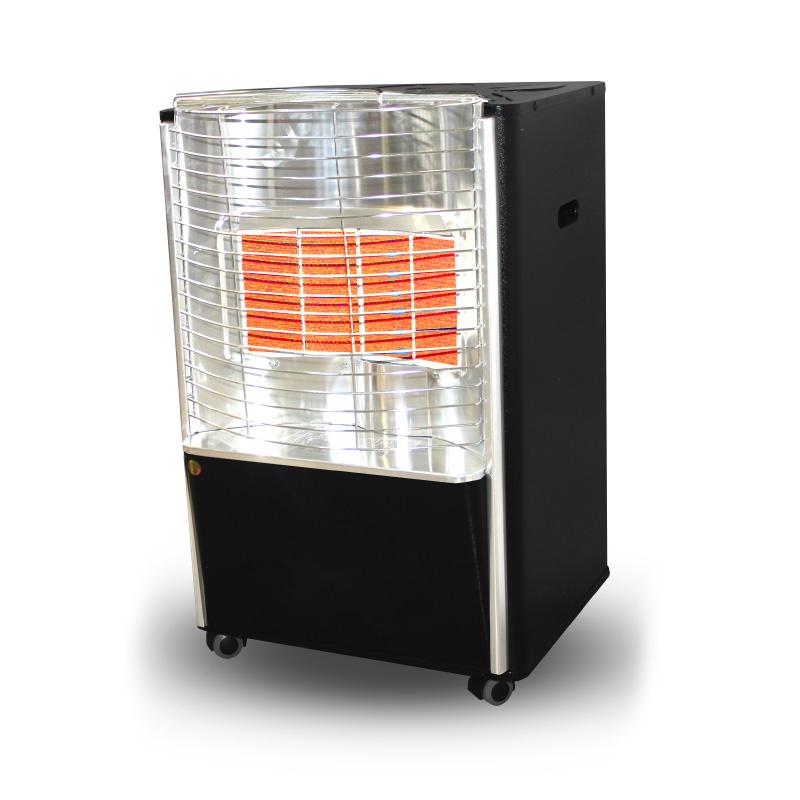 Eurostar Gas Heater Ries4 4 Plates Black – Sbitany Company avec Sbitany Home
