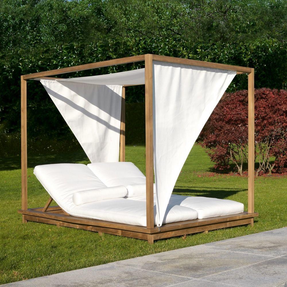 Exit Sunbed.lux: Bain De Soleil Double By Colico Pour tout Lit De Jardin Double