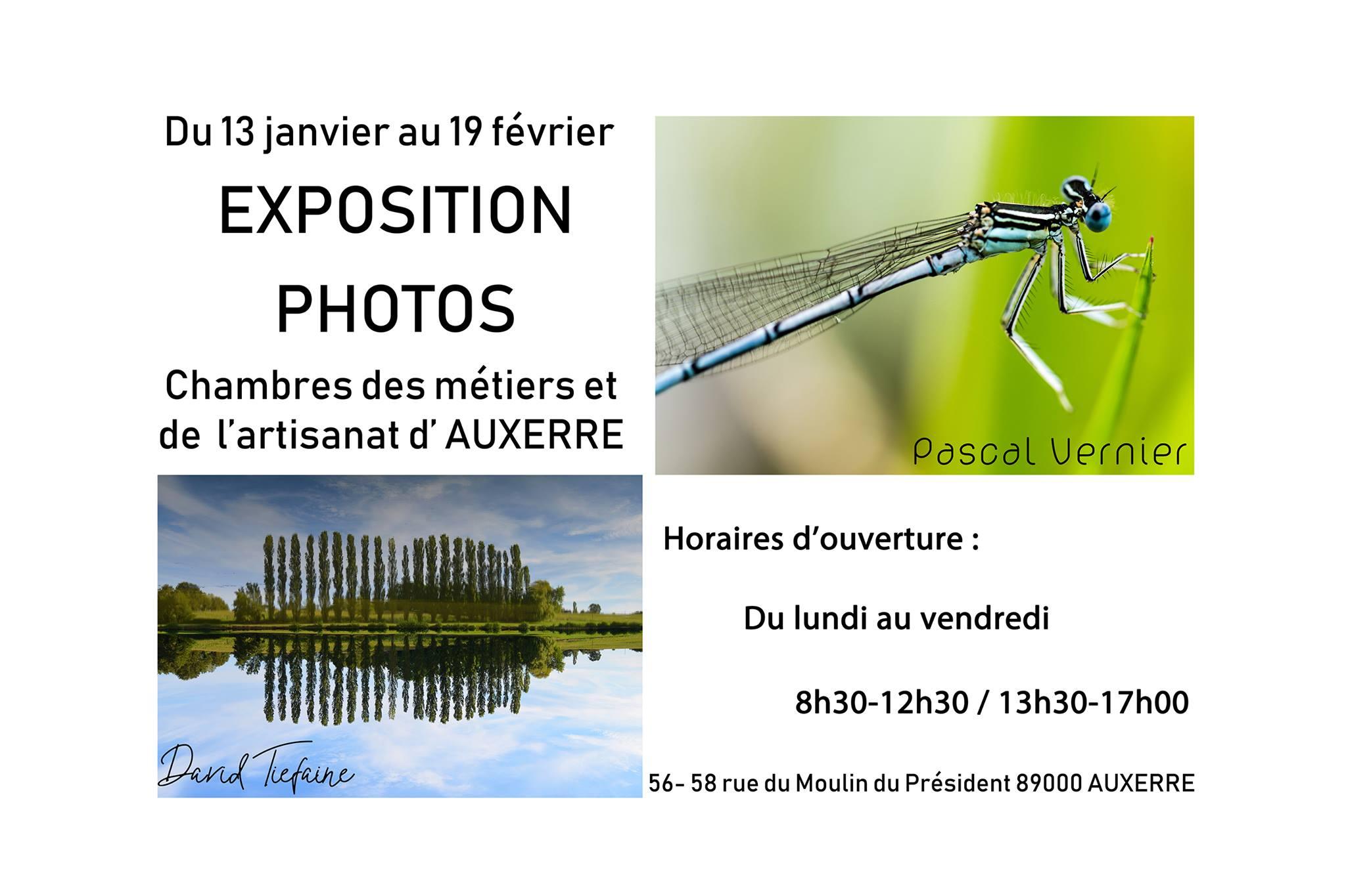 Expo Photo David Thièfaine - Pascal Vernier - Expofotoexpofoto dedans Chambre Des Metiers Auxerre