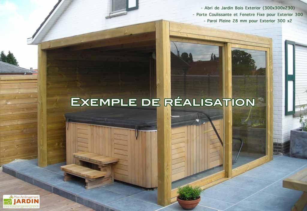 Extension Pour Exterior 300X300 - Gardival tout Porte Abri De Jardin 2 Vantaux
