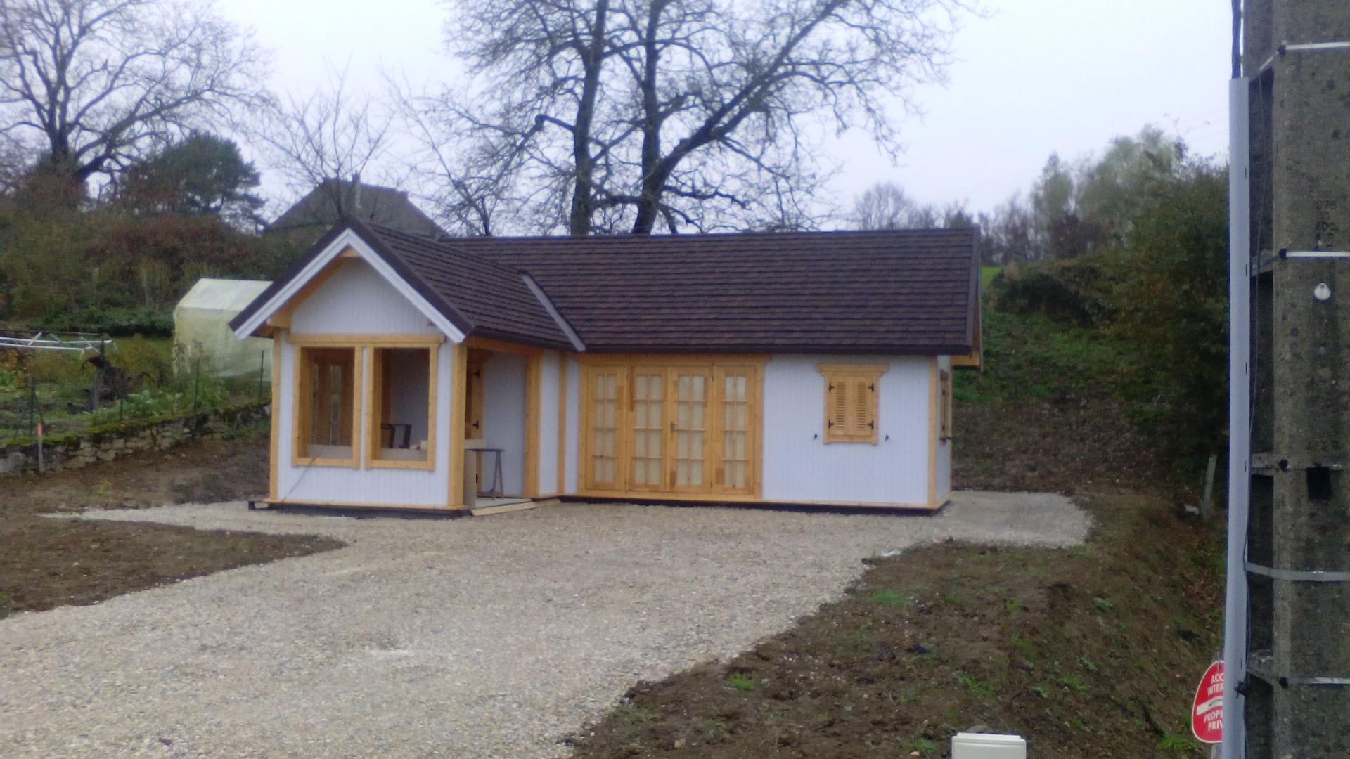 Fabricant Constructeur De Kits Chalets En Bois Habitables pour Chalet De Jardin Belgique