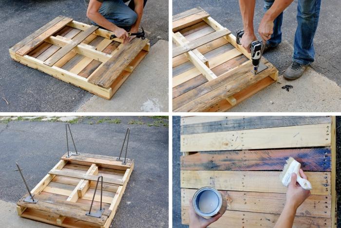 Fabriquer Une Table Basse En Palette – Les Meilleurs avec Fabriquer Une Coiffeuse En Palette