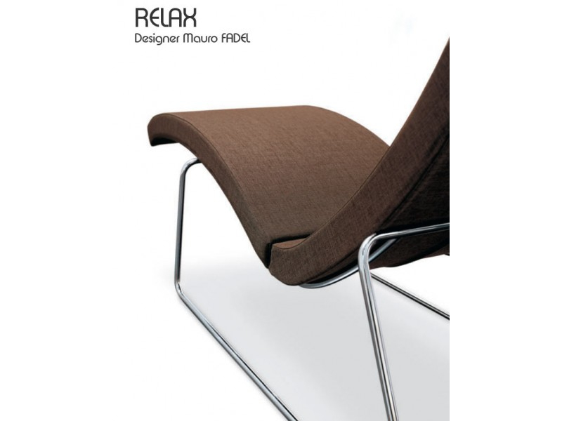 Fauteuil Relax, Cuir, Design Mauro Fadel à Fauteuil Relax Design Italien