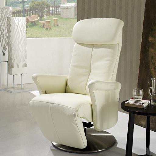 Fauteuil Relax Cuir Manuel De Luxe Design Contemporain pour Fauteuil Relax Design Italien