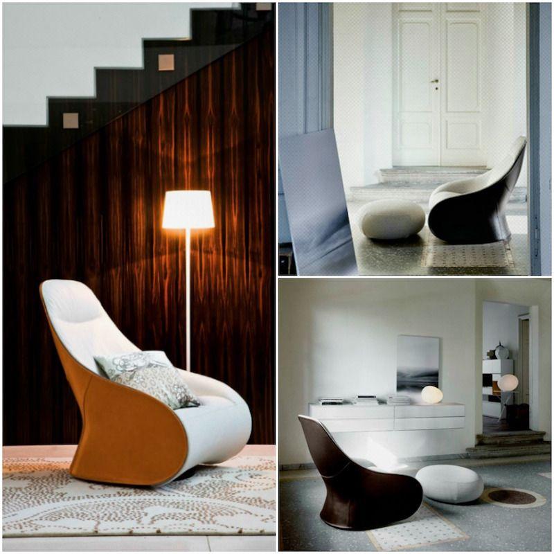 Fauteuil Relax De Design Moderne- Idées Confortables Et dedans Fauteuil Relax Design Italien