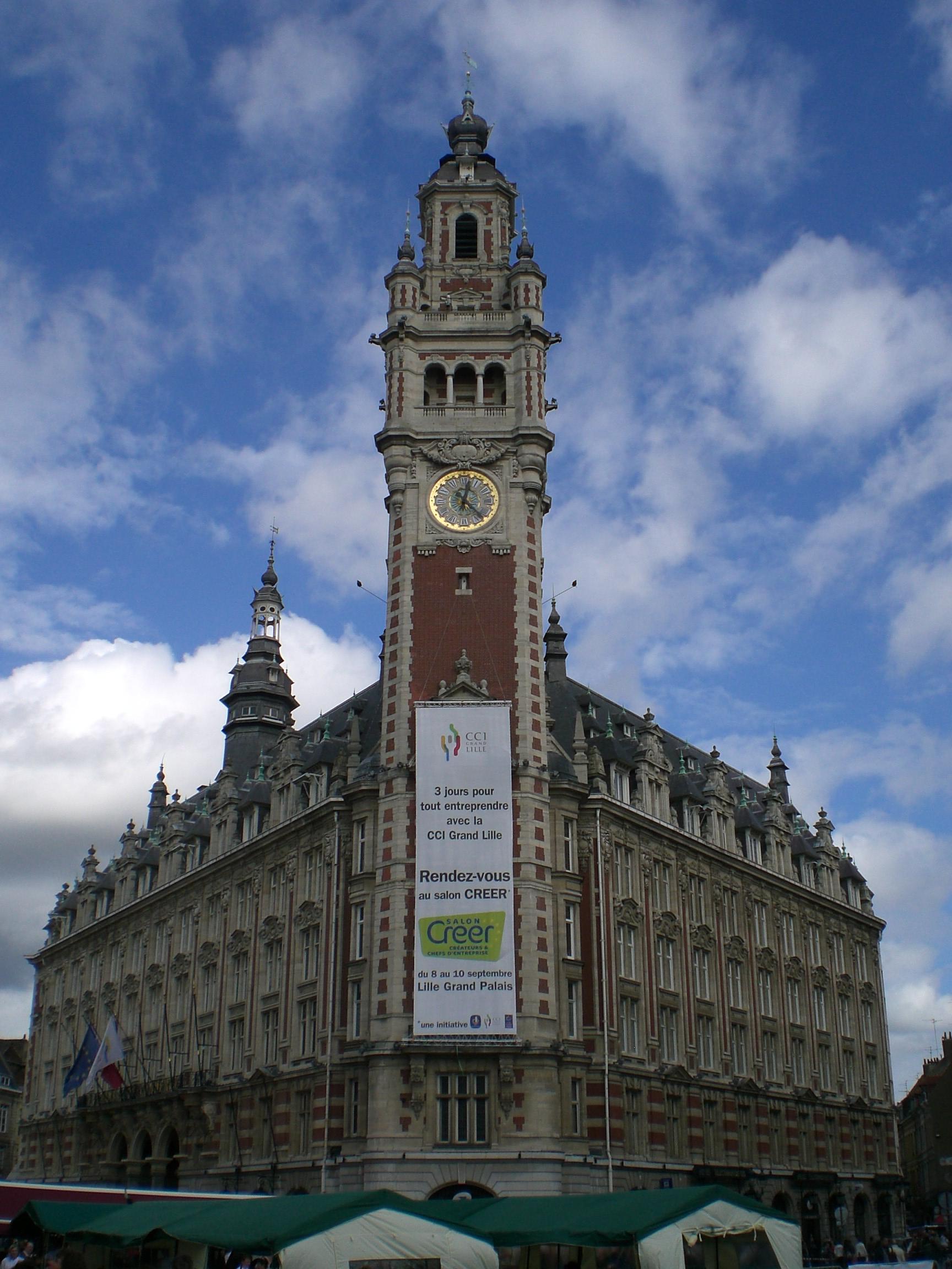 File:chambre De Commerce Industrie Lille - Wikimedia dedans Chambre Des Métiers Lille