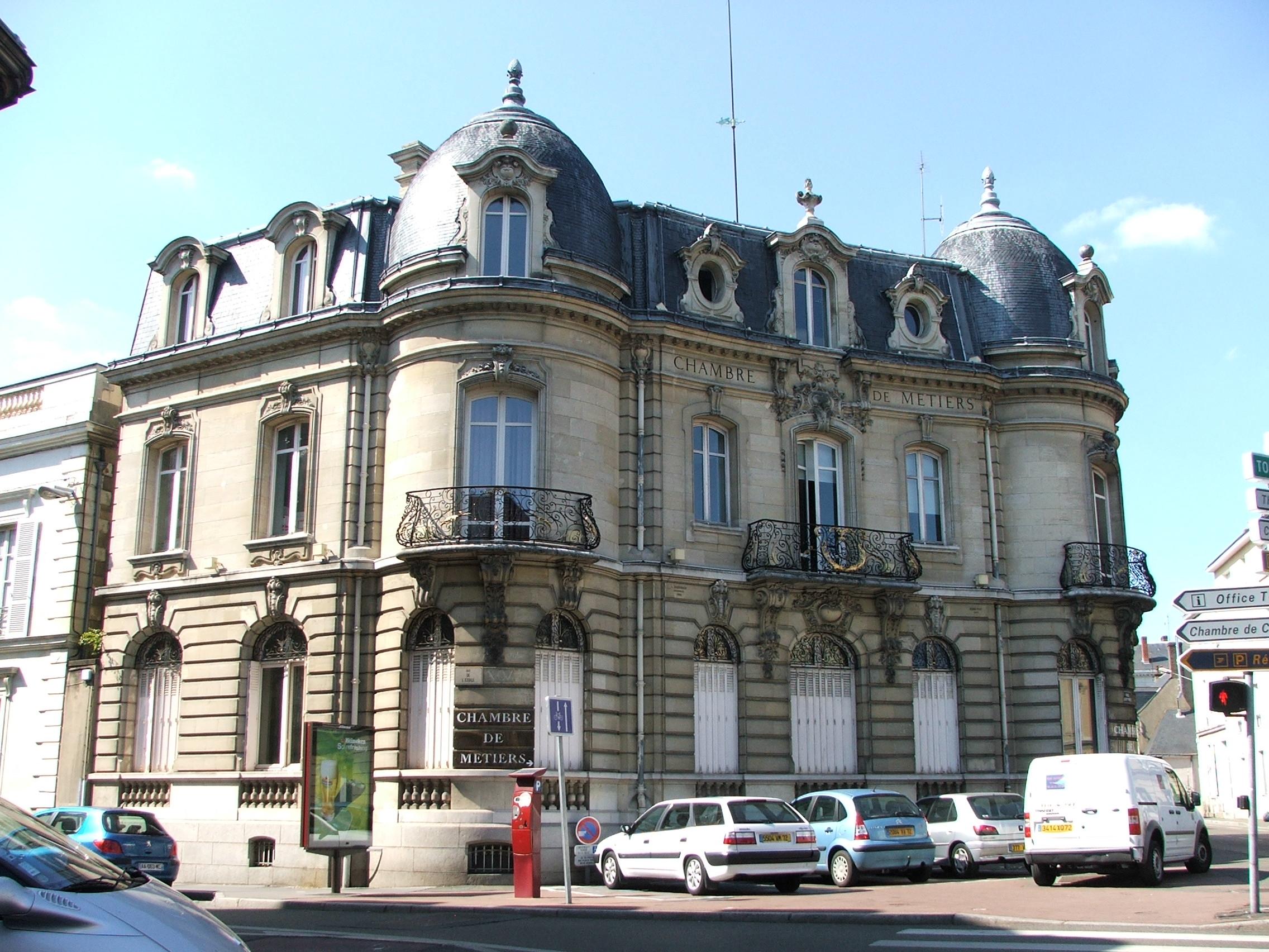 File:chambre De Métiers Du Mans - Wikimedia Commons intérieur Chambre Des Metiers Blois