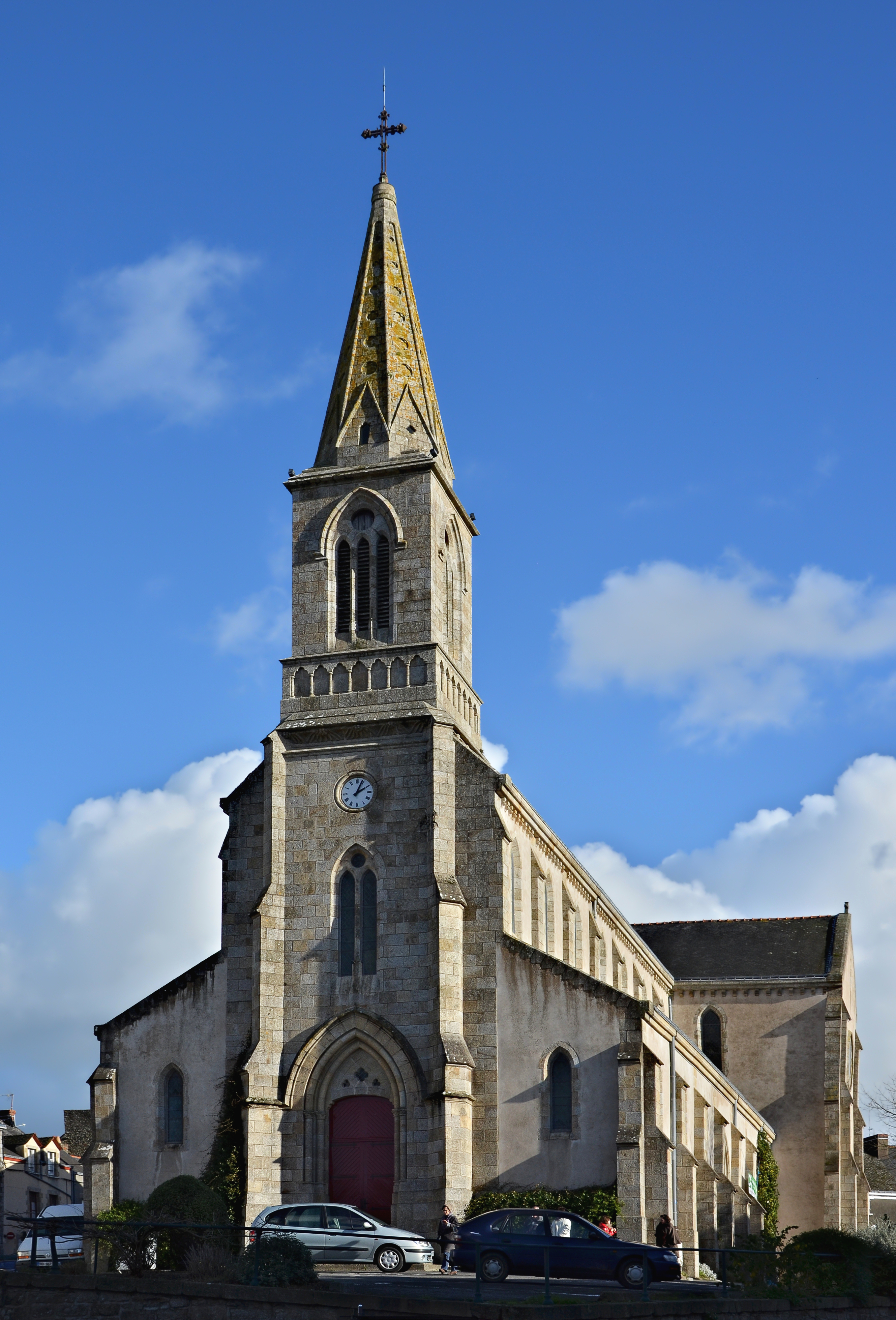 File:la Roche-Bernard 56 Église Vue 2013 - Wikimedia avec Chambre D Hote La Roche Bernard