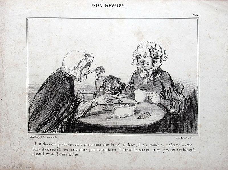 File:le Charivari, No. 22, Types Parisiens, Honoré Daumier pour Le Charivari