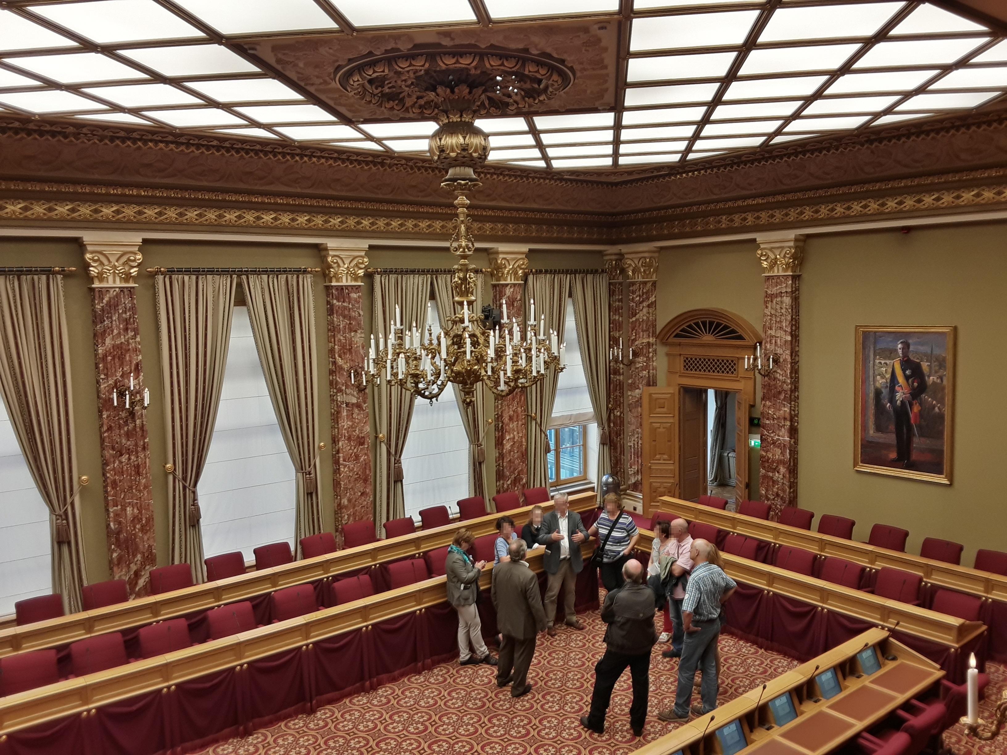 File:luxembourg, Chambre Des Députés (Intérieur) (08) à Chambre Des Métiers De L Ain