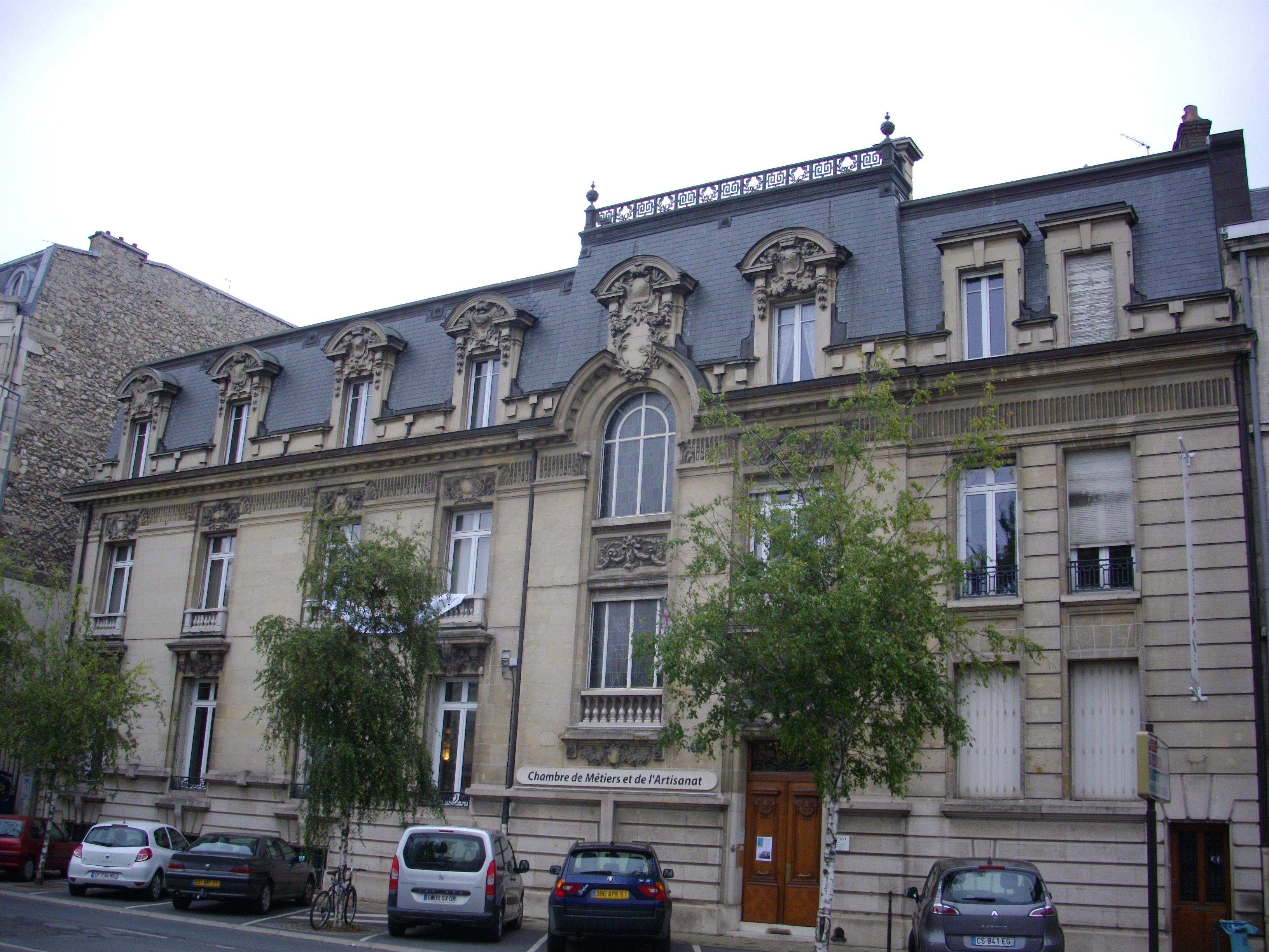 File:reims - Chambre Des Métiers - Wikimedia Commons concernant Chambre Des Metiers Blois