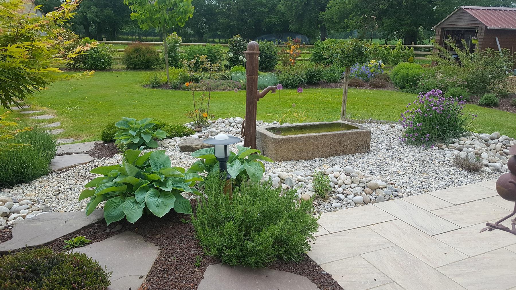 Fontaine De Jardin - Fontaine Extérieur | Paysages Conseil pour Fontaine Jardin Japonais