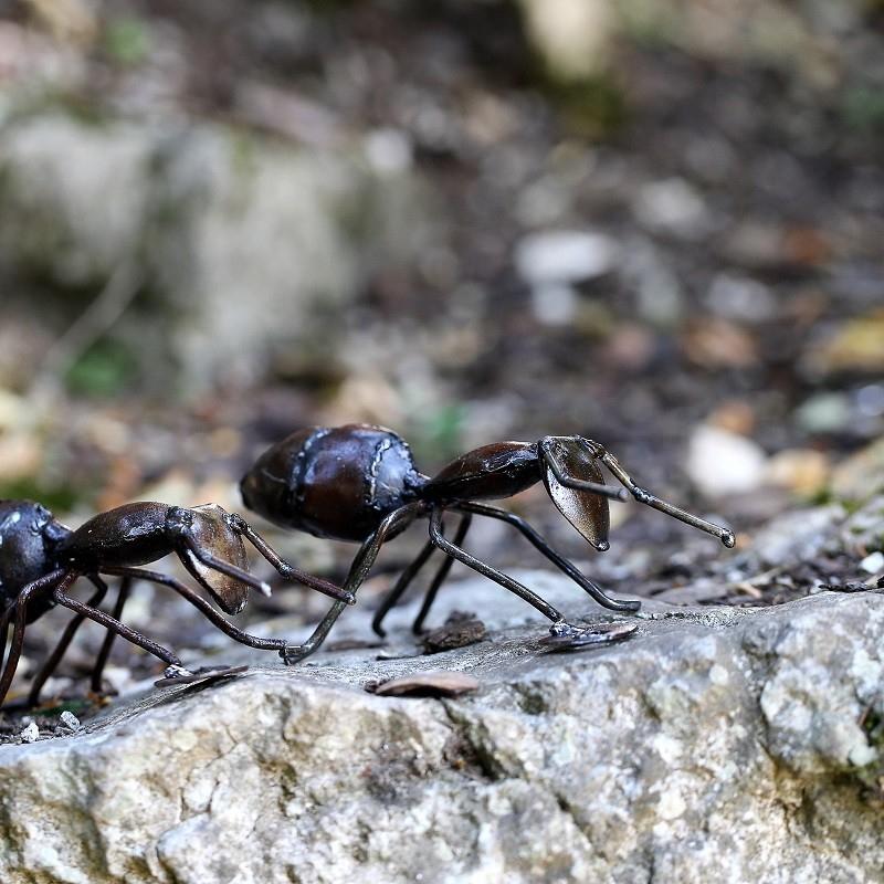 Fourmi En Métal Recyclé - Décoration Jardin, Les Oizeaux encequiconcerne Deco Metal Jardin