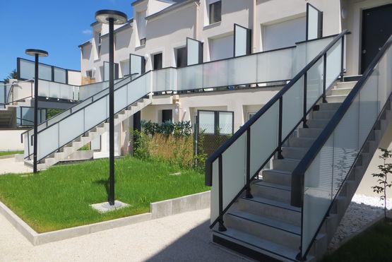 Garde-Corps En Aluminium Pour Toiture Terrasse Accessible pour Toiture Terrasse Accessible