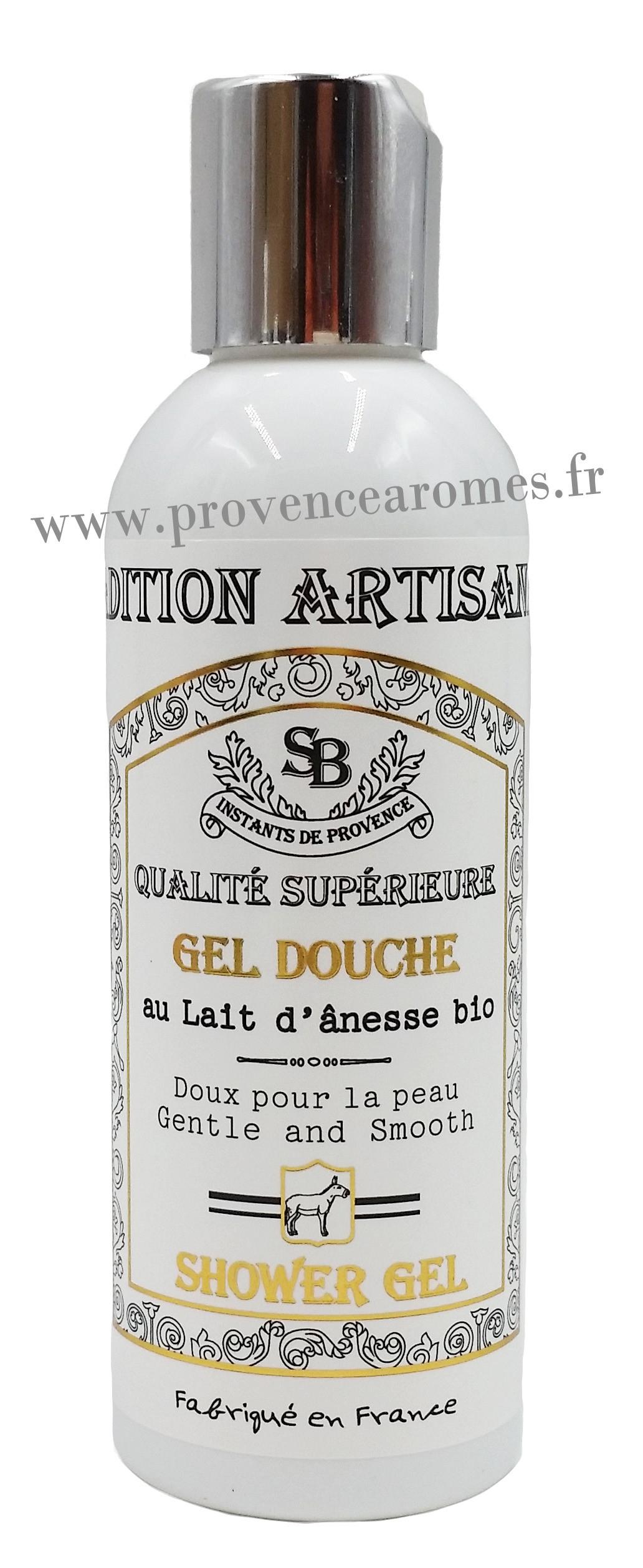Gel Douche Au Lait D'ânesse Bio Un Été En Provence - Provence Arômes  Tendance Sud à Gel Douche Lait D Anesse