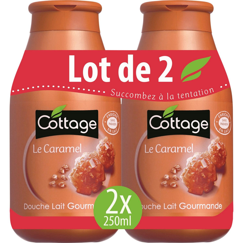 Gel Douche Caramel Cottage Cottage - Les 2 Flacons De 250 Ml à Gel Douche Cottage Prix
