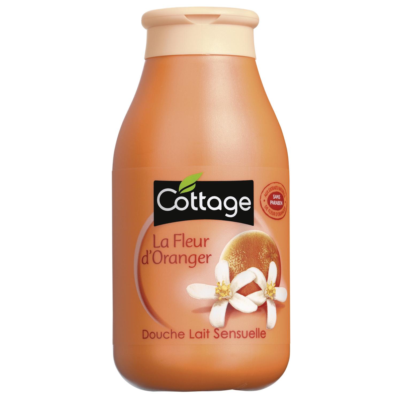 Gel Douche Lait Fleur D'oranger Cottage Cottage - Le Flacon encequiconcerne Gel Douche Cottage Prix