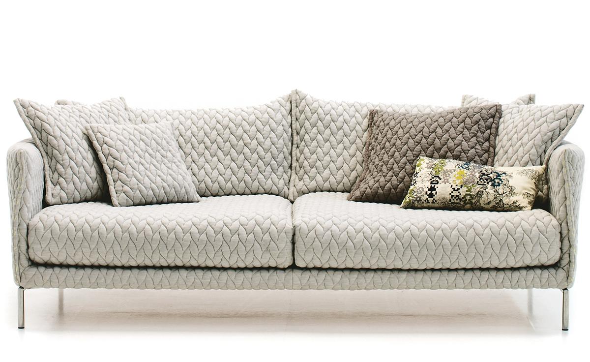 Gentry 90 Two Seater Sofa - Hivemodern serapportantà Sofa
