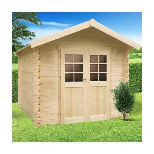 Gera 5,12M², Toiture Shingle Rouge, Plancher Non, Abri concernant Abri De Jardin En Longueur