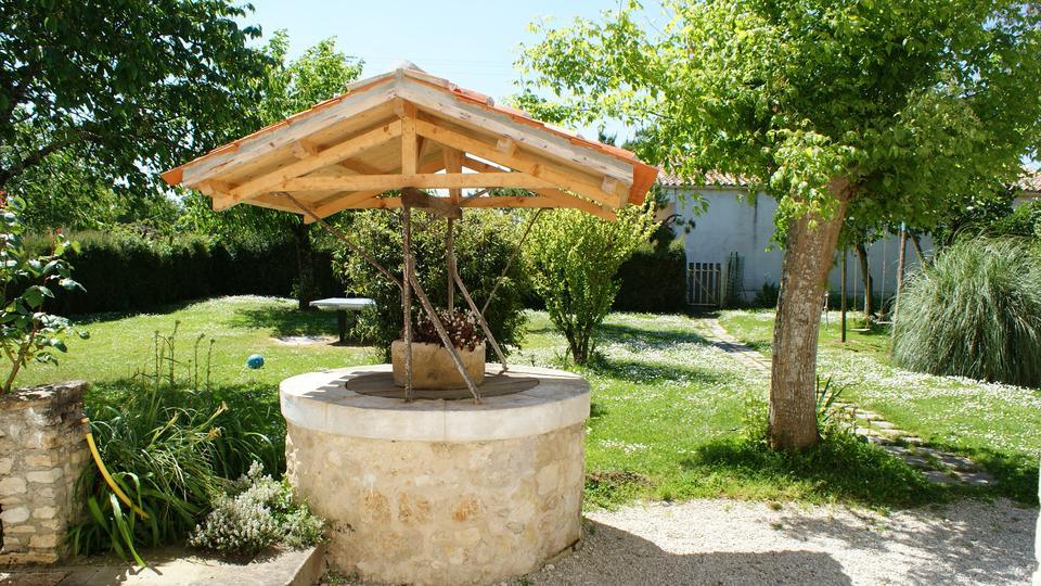 Gîte Rural 3 Étoiles 10 Personnes 5 Chambres Agréé pour Puit Decoratif Jardin
