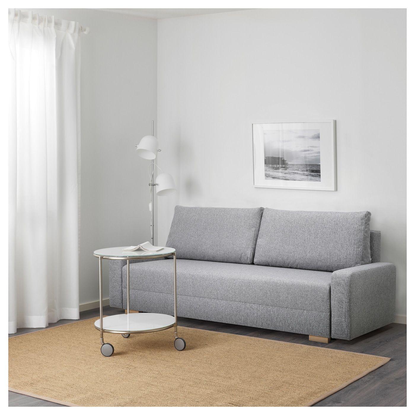 Grälviken Rozkładana Sofa 3-Osobowa, Szary | Chata pour Gralviken