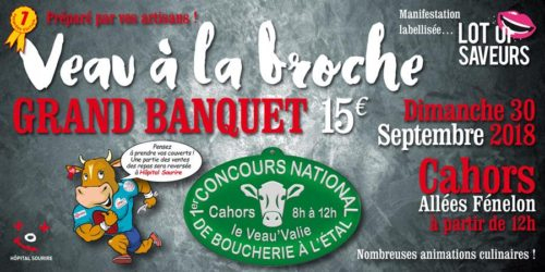 Grand Banquet Veau À La Broche - Chambre De Métiers Et De concernant Stage Chambre Des Métiers