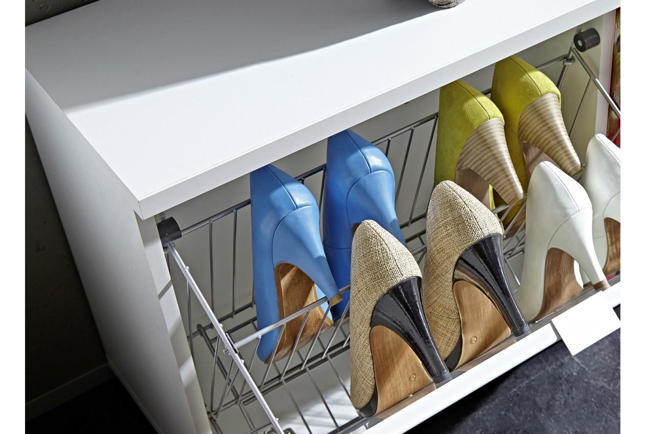 Grand Meuble À Chaussures - 64 Paires Pour Meuble Entrée dedans Grand Meuble Chaussure