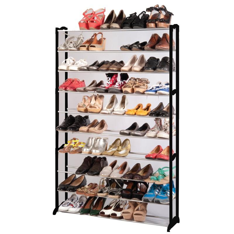 Grand Meuble Chaussures 50 Paires | Idées De Décoration à Grand Meuble Chaussure