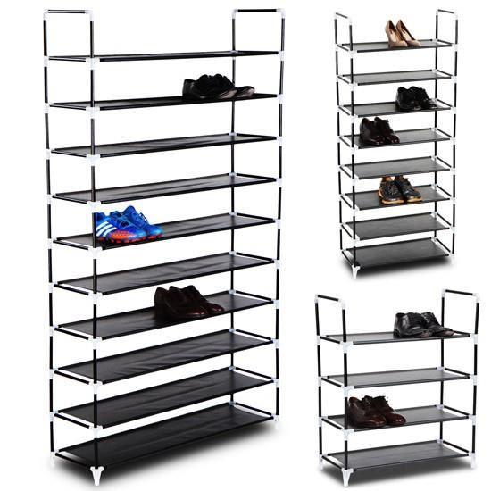 Grand Meuble Chaussures 50 Paires | Idées De Décoration encequiconcerne Grand Meuble Chaussure