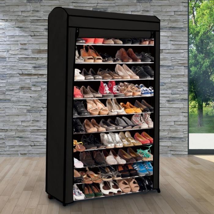 Grand Meuble Chaussures 50 Paires | Idées De Décoration serapportantà Grand Meuble Chaussure