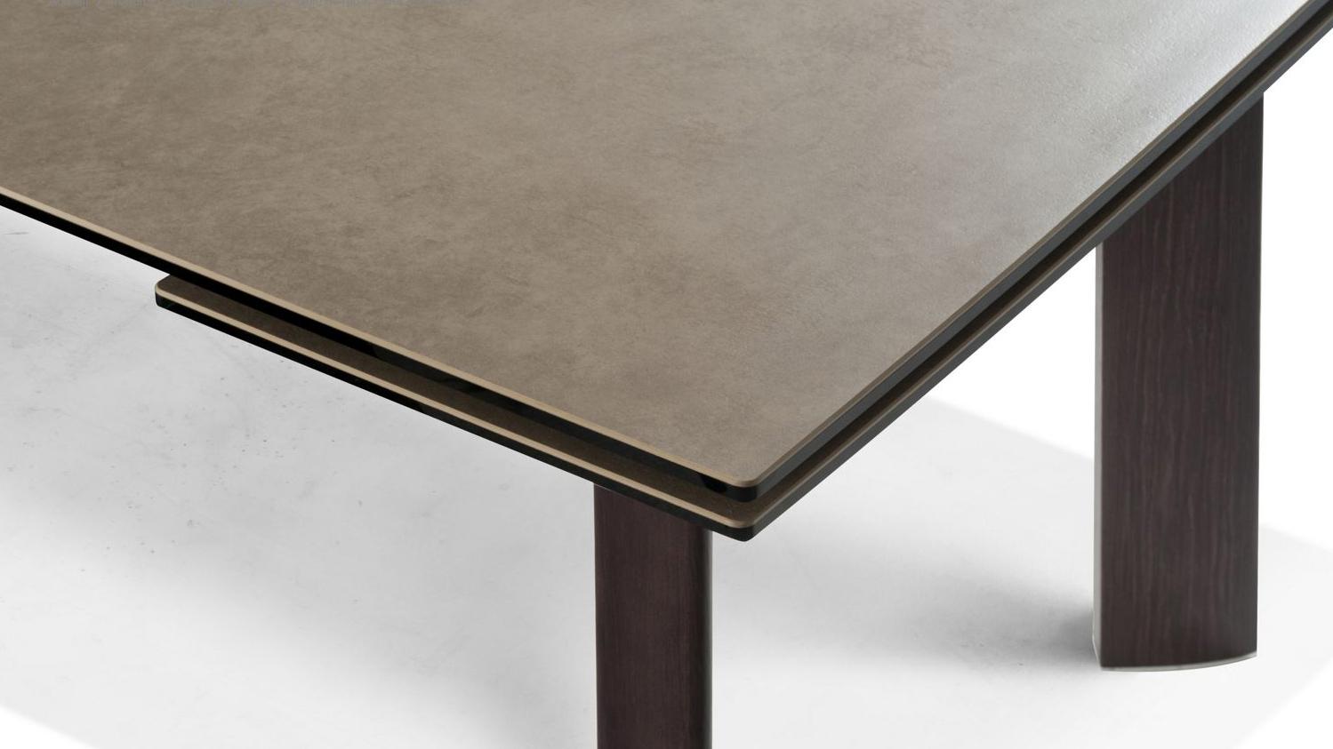 Grande Table De Repas Roche Bobois Chrono Wood - Meuble Et concernant Table Salle À Manger Roche Bobois