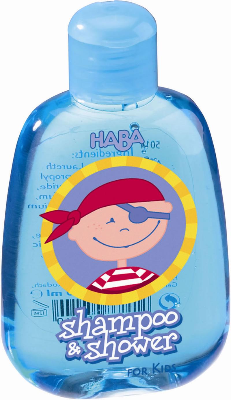 Haba Shampooing Gel Douche Pirate, Petit Modèle dedans Mini Gel Douche
