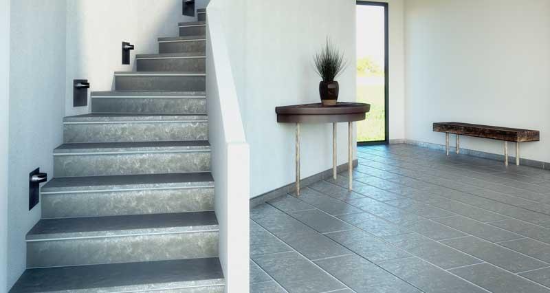 Habiller Un Escalier En Lame Composite – Gamboahinestrosa à Lameo Xtra