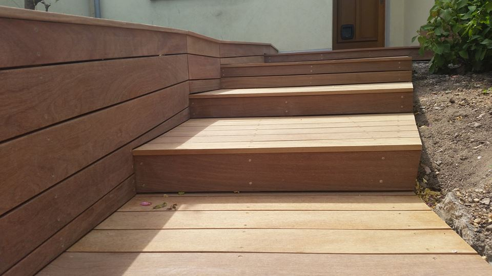 Habiller Un Escalier En Lame Composite – Gamboahinestrosa avec Lameo Xtra