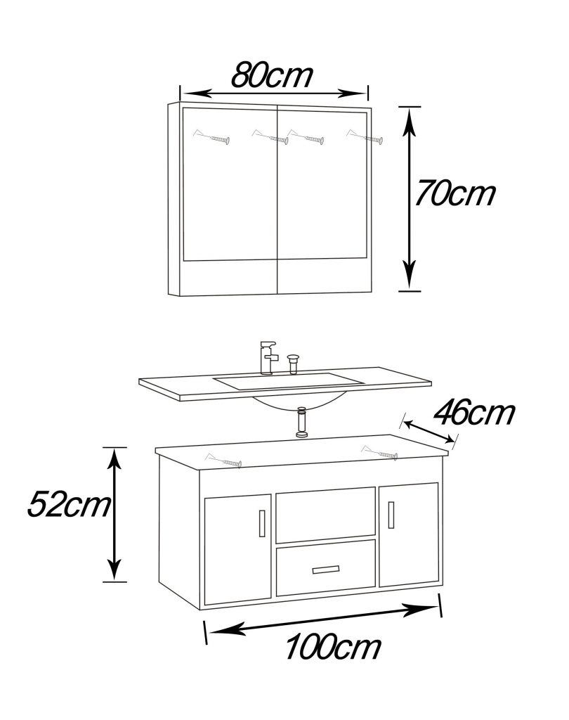 Hauteur Standard Meuble Vasque - Fleur De Passion dedans Hauteur Standard Meuble Salle De Bain