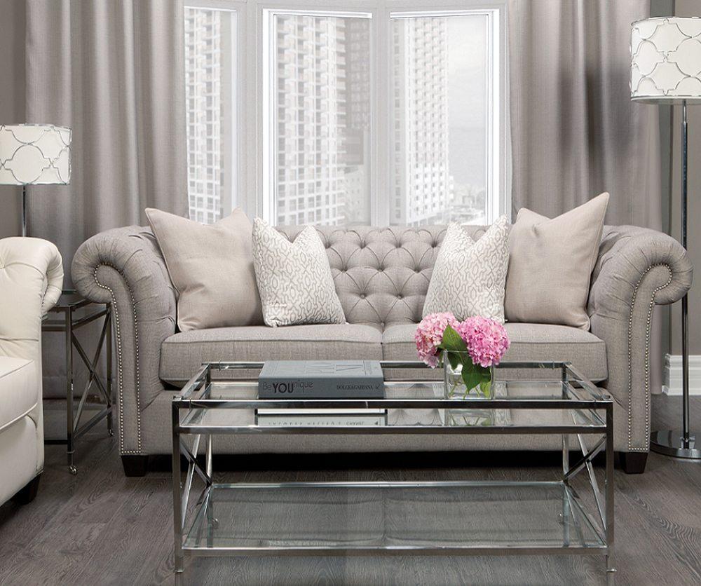 Henley Fabric Sofa - Decorium Furniture avec Sofa