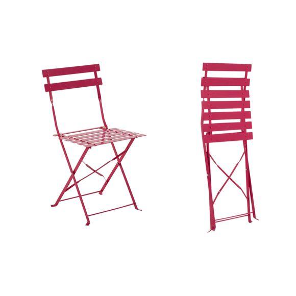 Hesperide - Chaise De Jardin Métal Pliante Camargue dedans Chaise De Jardin Pliante Pas Cher