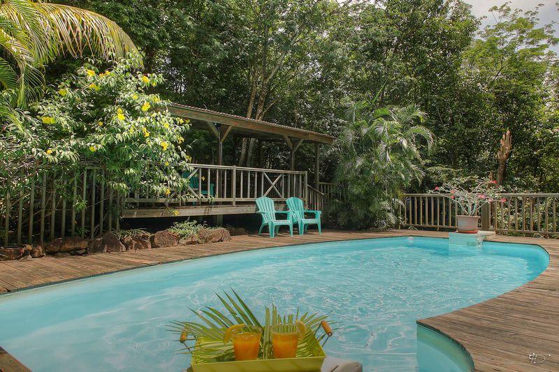 Hotel Au Jardin Des Colibris In Deshaies, Franse Antillen dedans Au Jardin Des Colibris