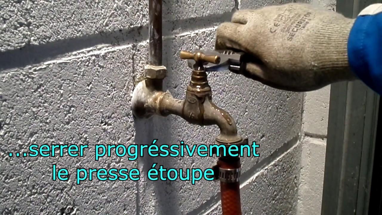 How To Fix A Garden Faucet encequiconcerne Robinet Qui Fuit Par Le Haut