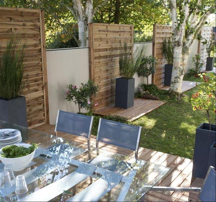 Idea By Eman On Backyard Retreat | Pergola Garden, Pergola intérieur Dalle Bois Lumo
