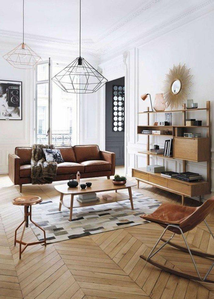 Idee Deco Salon Parquet Bois - Idée De Déco destiné Idee De Salon