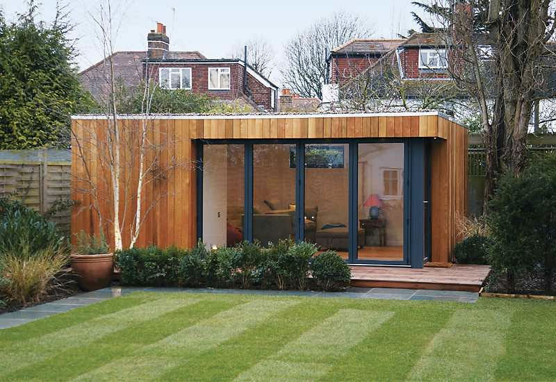 Idées Aménagement Jardin : 5 Choses À Savoir Pour Décorer à Abri De Jardin Contemporain