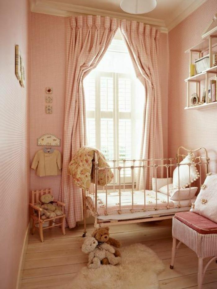 Idées En 50 Photos Pour Choisir Les Rideaux Enfants concernant Voilage Chambre Fille