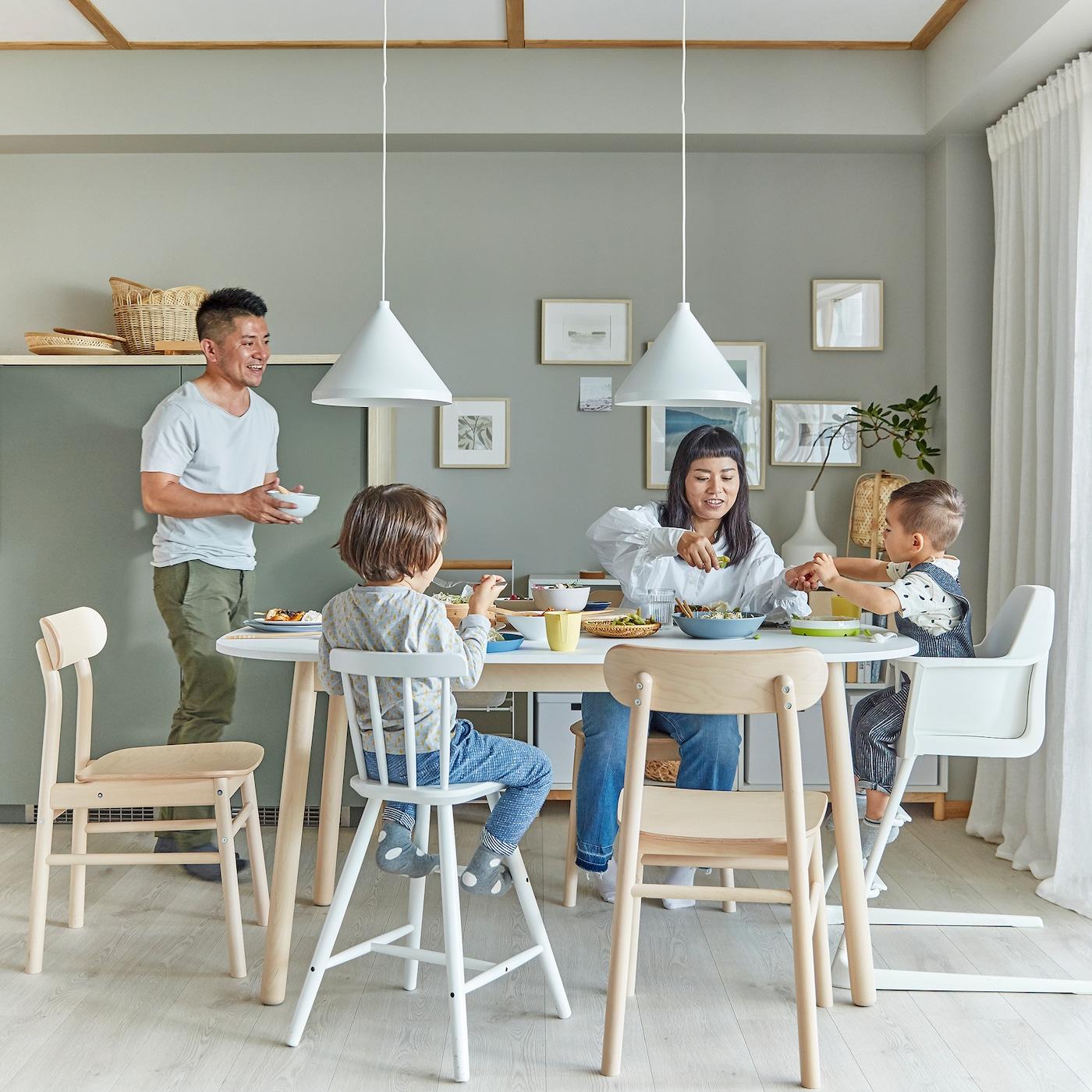 Idées Pour L'aménagement De Ta Salle À Manger - Ikea Suisse intérieur Tables Salle À Manger Ikea