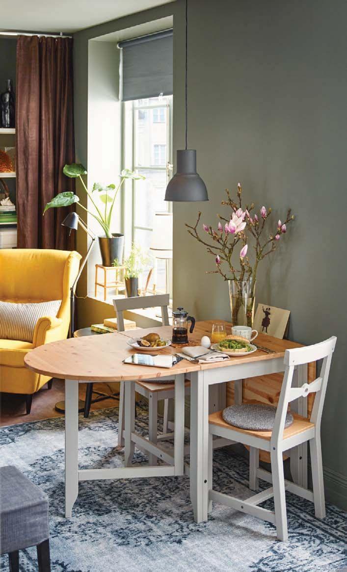 Ikea : Découvrez Le Nouveau Catalogue Ikea 2016   Table De destiné Table Salle A Manger Pliante Ikea