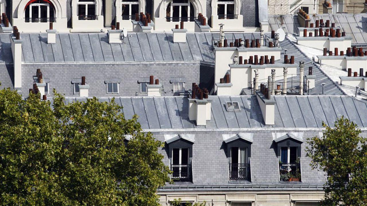 Immobilier : Les « Chambres De Bonne » Font Moins Recette avec Achat Chambre De Bonne Paris