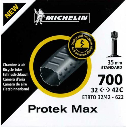 Increvable : Chambre À Air Michelin Protek Max 700X32/42C tout Chambre A Air Velo Anti Crevaison