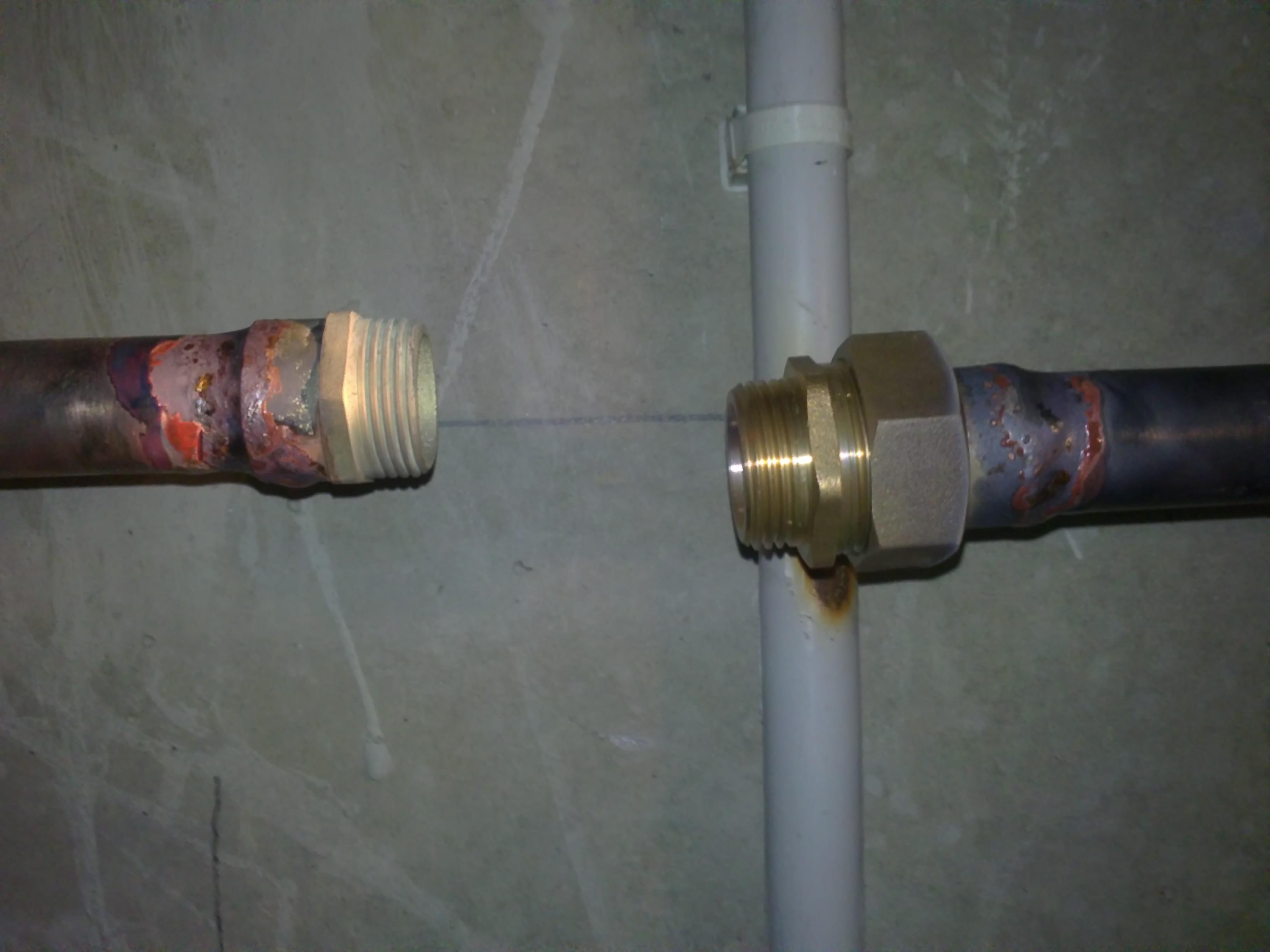 Installation D'une Vanne D'arrêt (Eau)   Brico-Plomberie intérieur Robinet D Arrêt Avec Purge