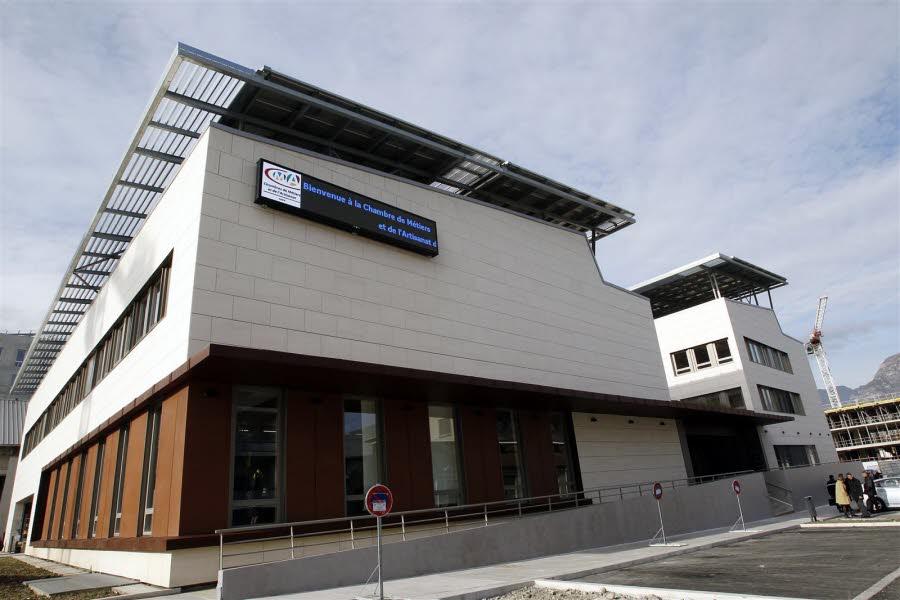 Isère-Sud   Inauguration Du Nouveau Siège De La Chambres destiné Chambre Des Metiers Bastia